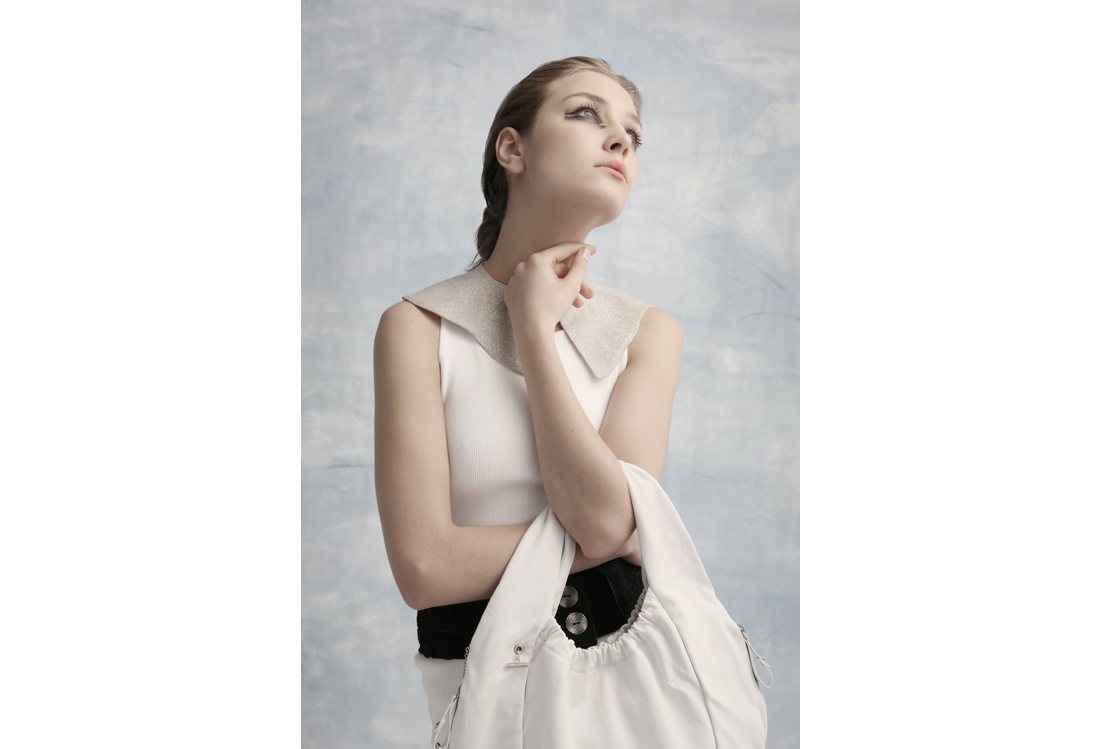 shooting fotografico moda tema Magritte - Laura Pietra