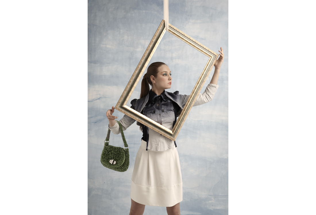 fashion photography Magritte theme- Laura Pietra