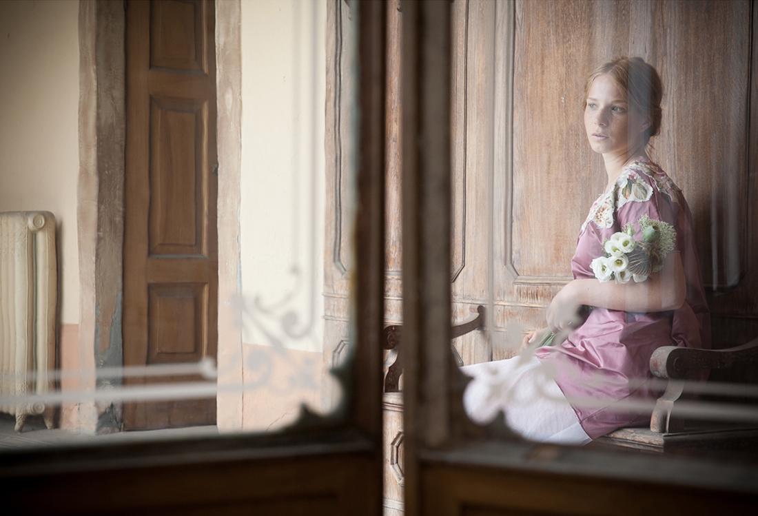 Laura Pietra - servizio fotografico modella tema Timeless