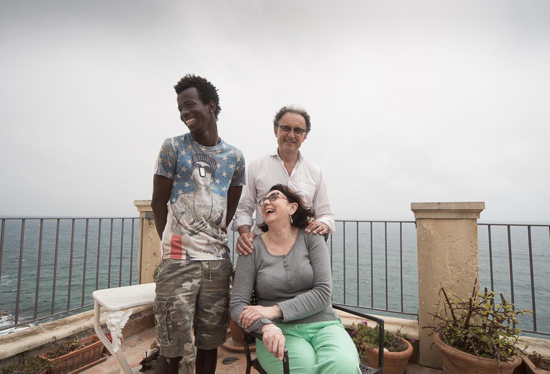 Laura Pietra - foto personal, tema accoglienza