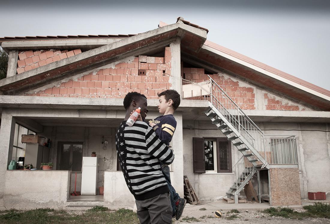 accoglienza, foto personal - Laura Pietra