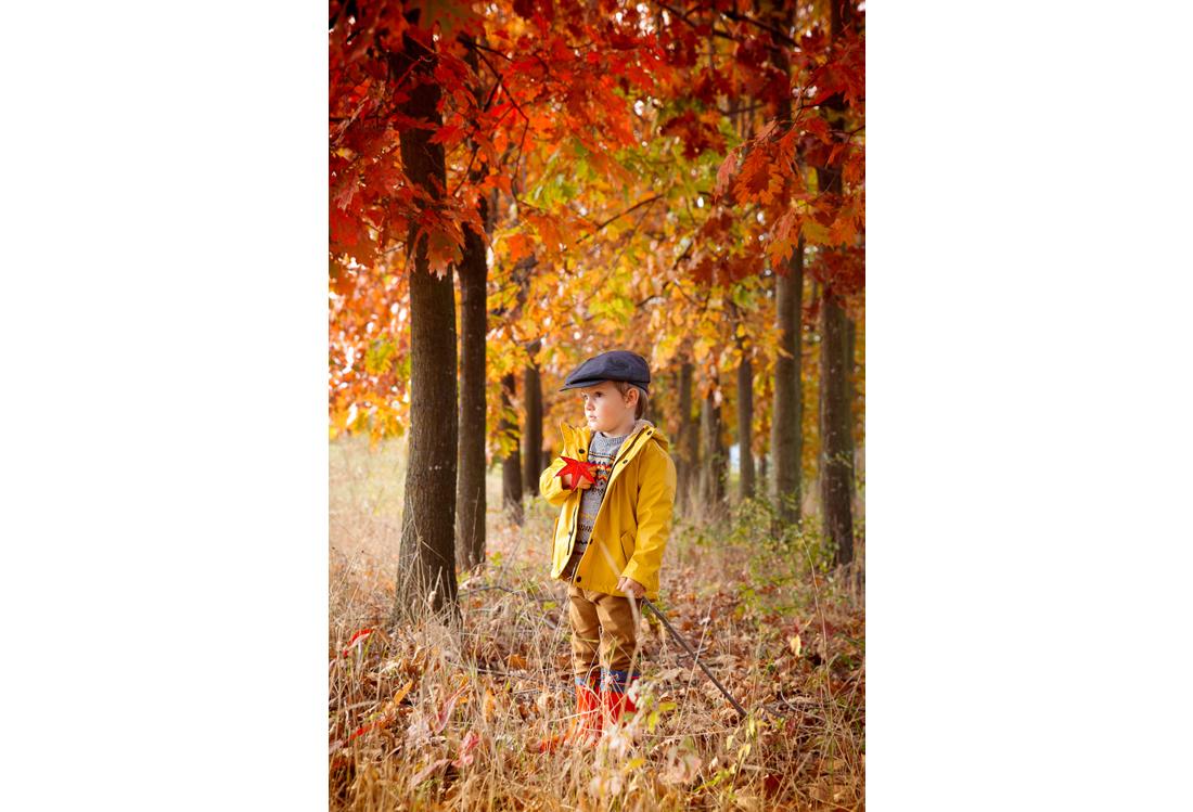 Laura Pietra fotografo di bambini autunno
