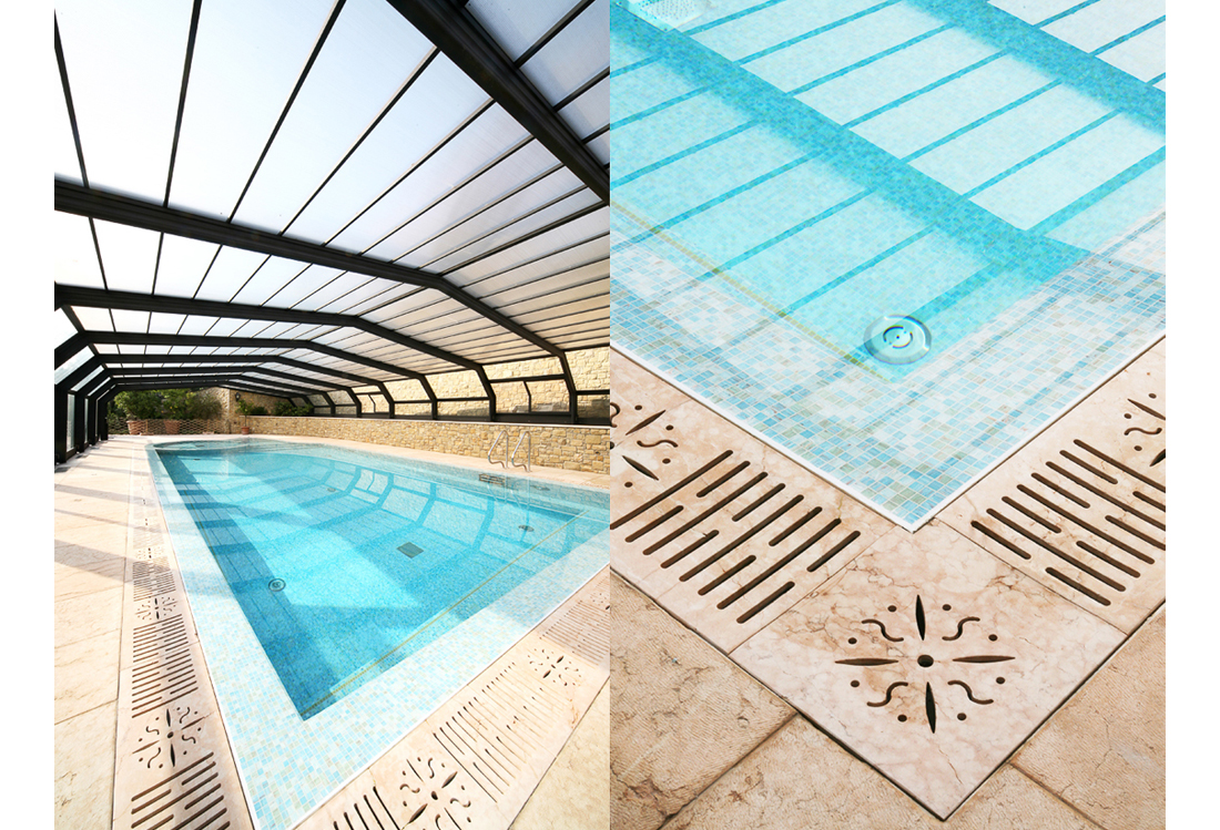 Laura Pietra - servizio fotografico piscine indoor