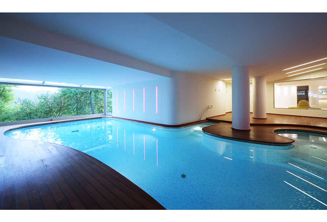 servizio fotografico piscine indoor - Laura Pietra