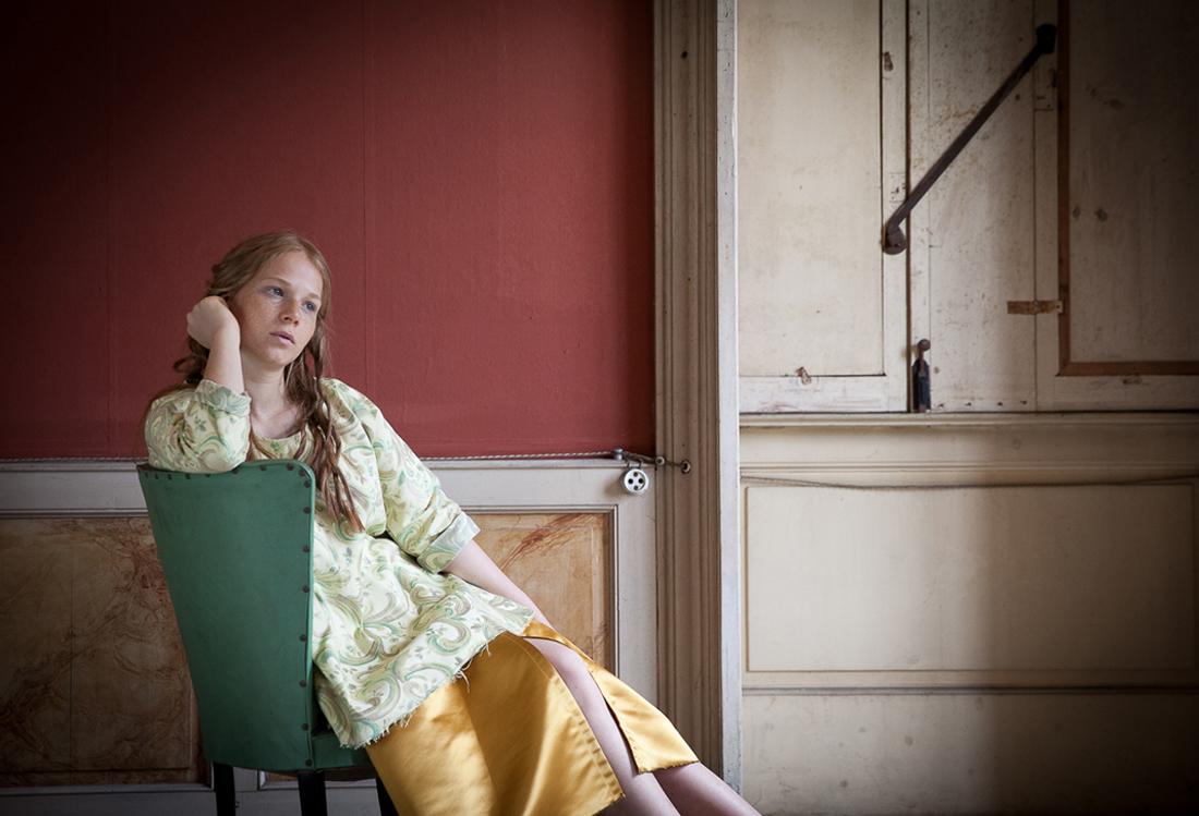 servizio fotografico modella tema Timeless - Laura Pietra
