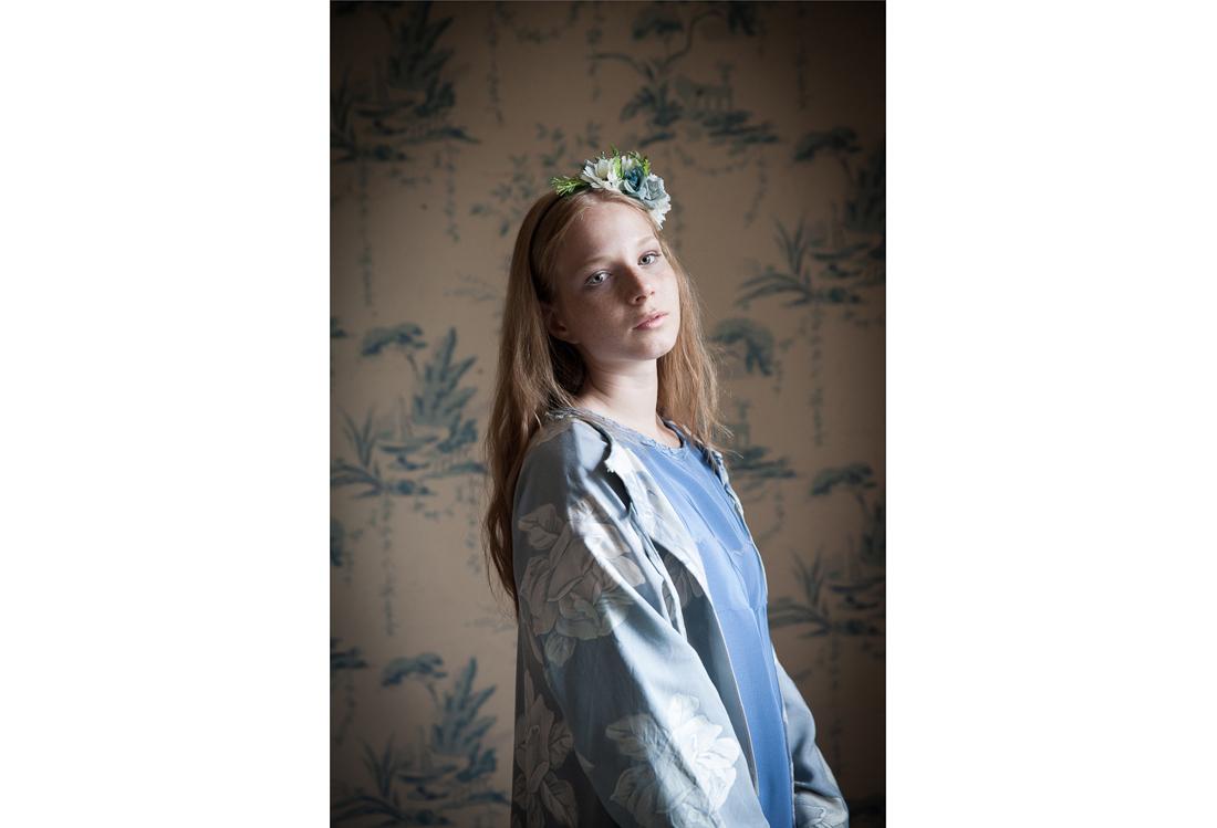 Laura Pietra - servizio fotografico moda tema Timeless