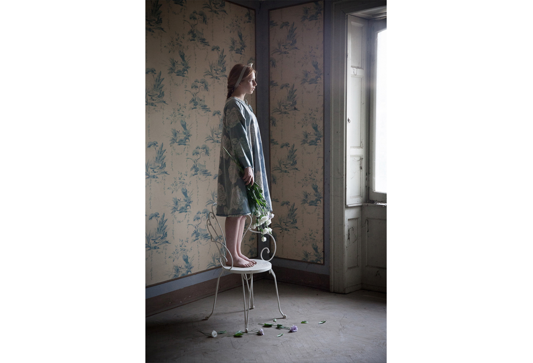 Laura Pietra - book fotografico di moda tema Timeless