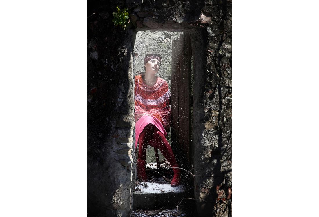 servizio fotografico moda tema Wood - Laura Pietra