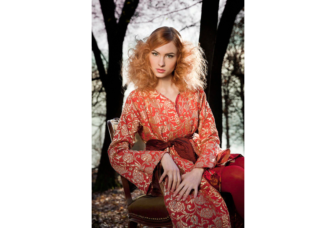 Laura Pietra - servizio fotografico moda tema Wood