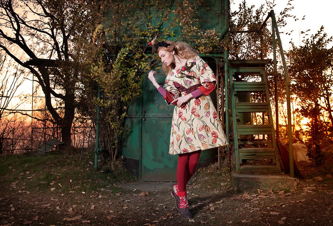 Laura Pietra - shooting fotografico tema Wood